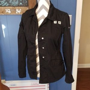 Diesel military black jacket size small